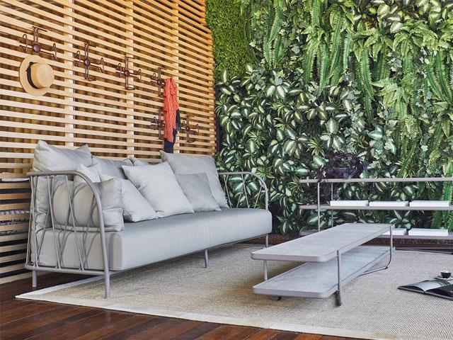 Mẫu 4: Sofa sắt hộp đẹp, chắc chắn với phần nệm ghế có thể thay đổi linh hoạt theo không gian, sở thích