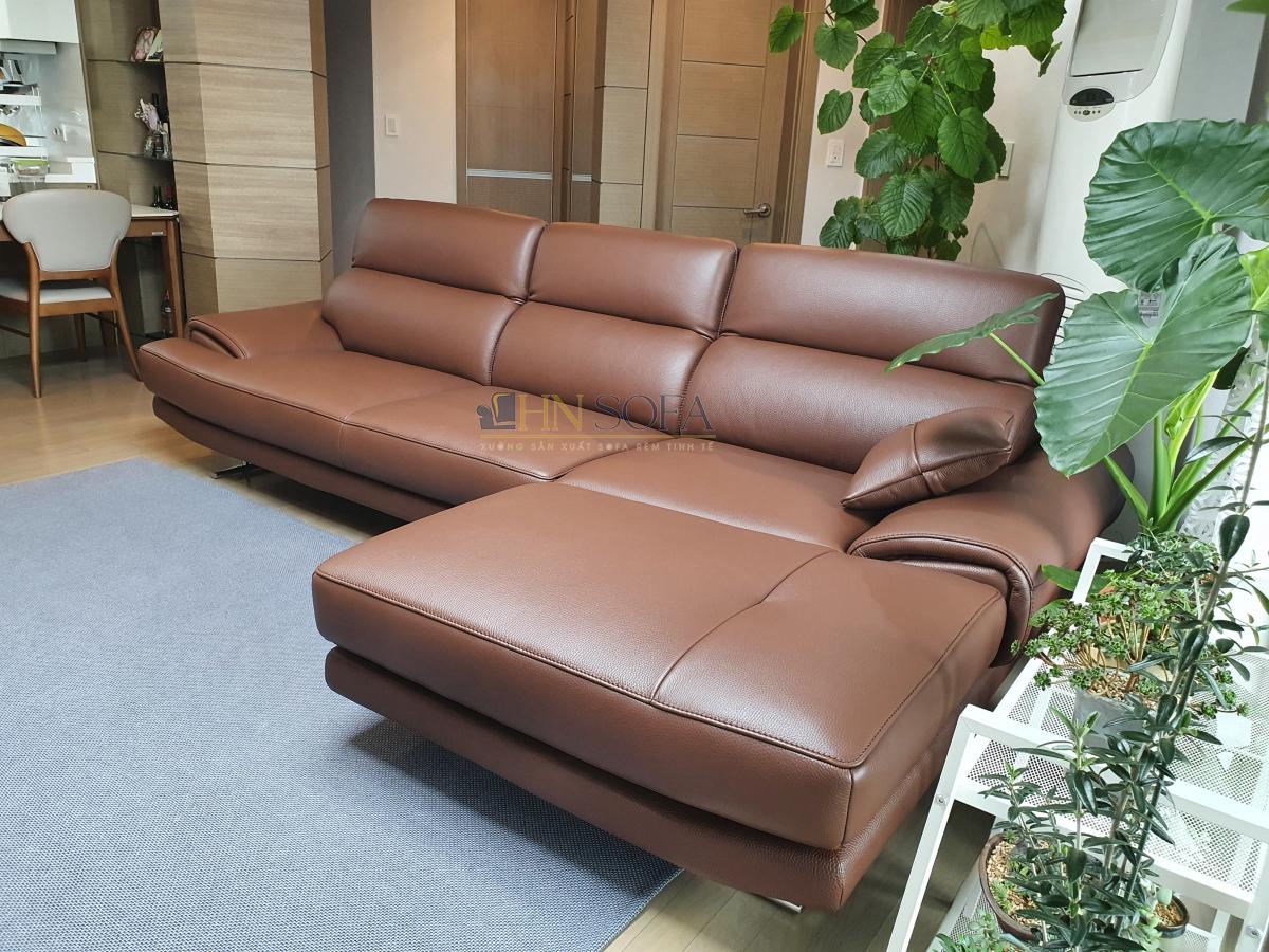Mẫu sofa đóng tại xưởng HNSOFA