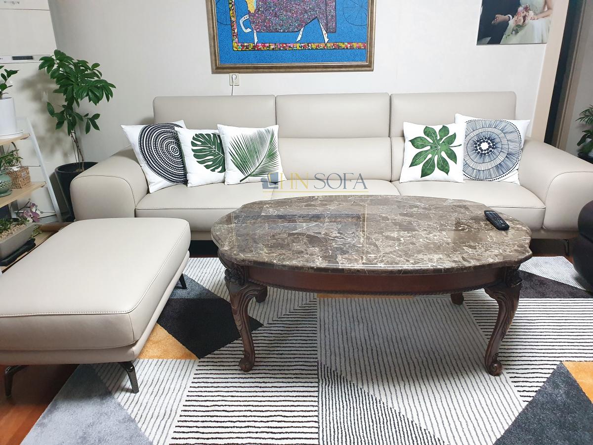 Mẫu sofa bàn giao tại nhà khách hàng