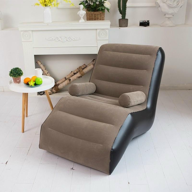 Mẫu 5: Sofa tựa lưng thư giãn bọc da sang trọng
