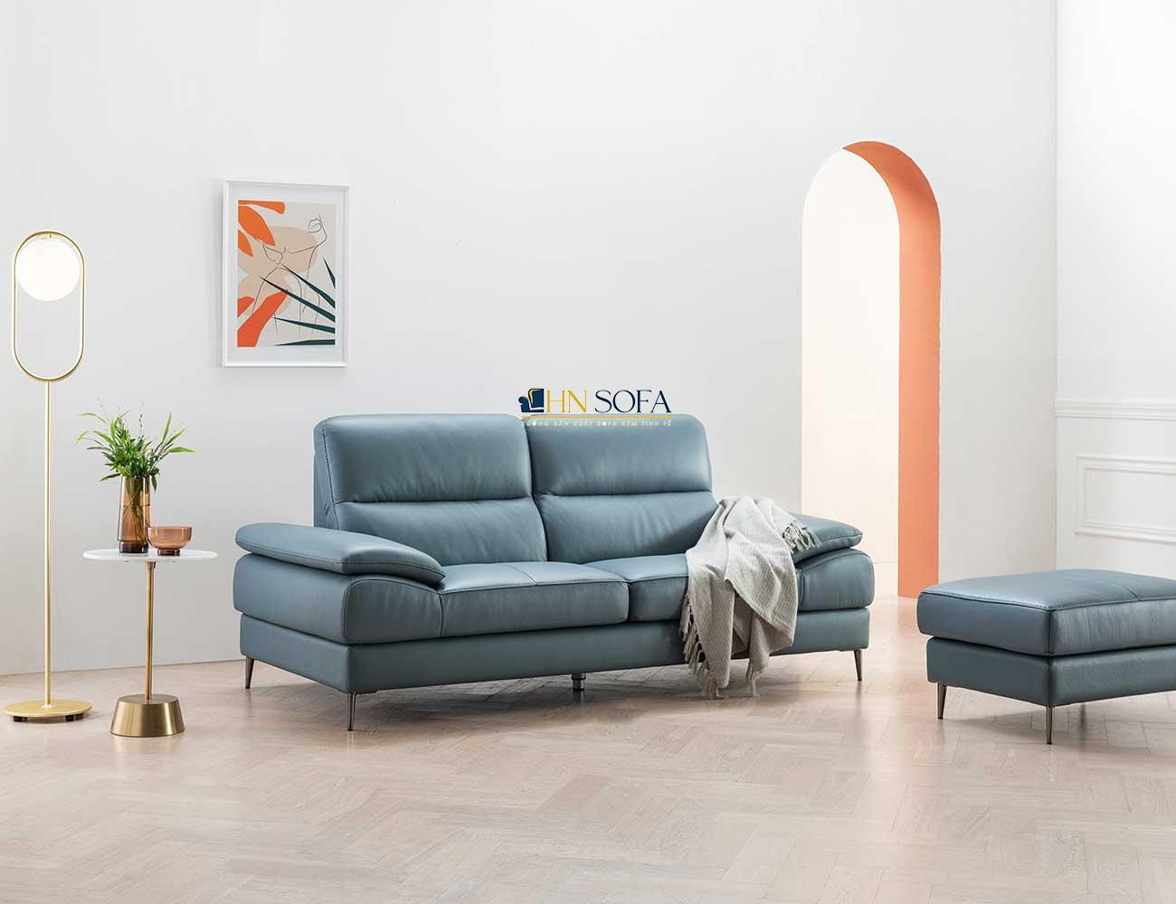 Sofa văng da Malaysia 2 chỗ HNS60
