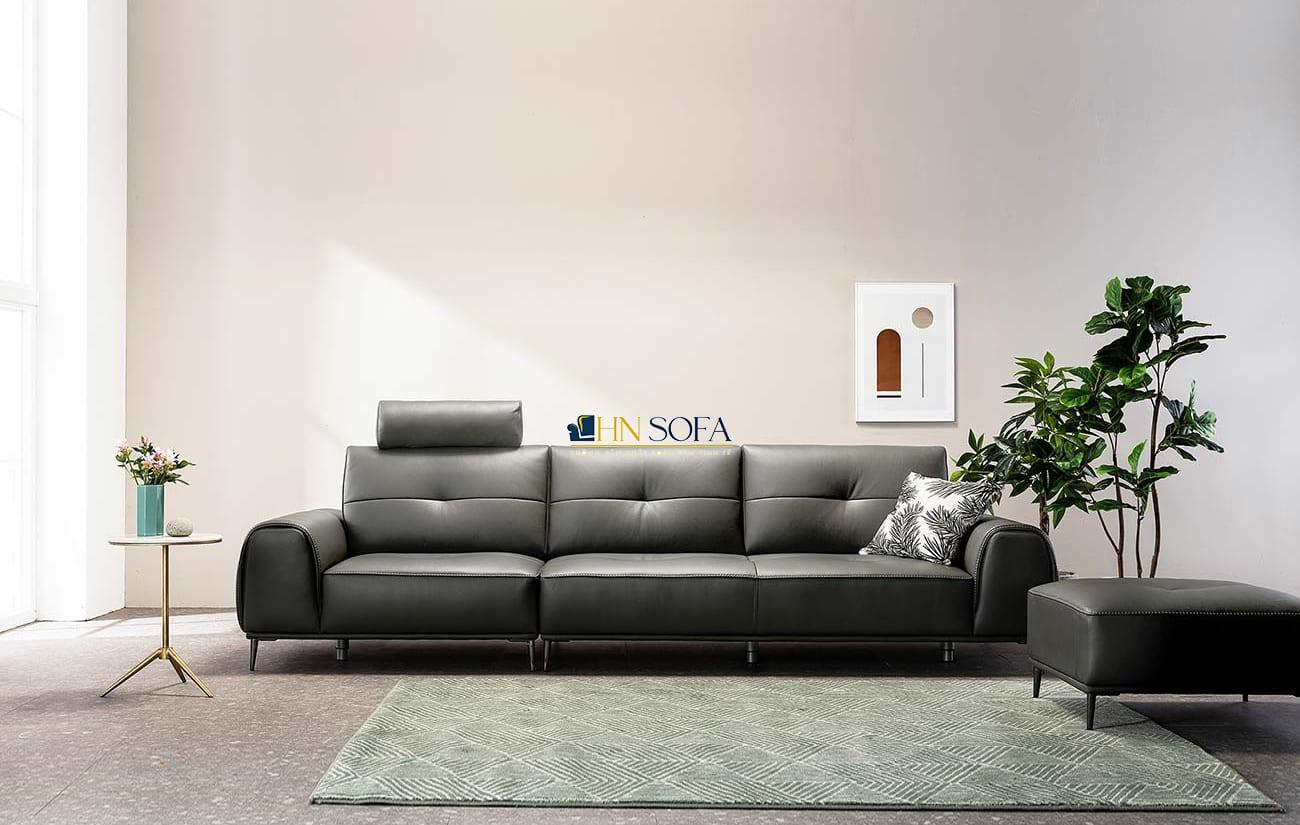 Mẫu sofa văng da Microfiber 3 chỗ HNS66