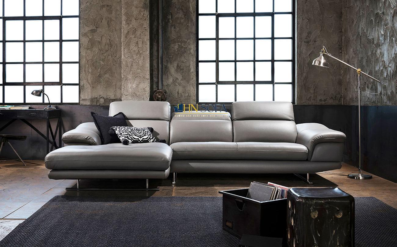 Mẫu sofa góc L HNS76