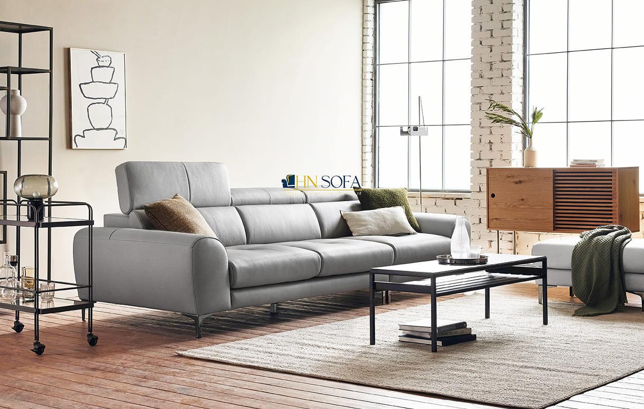 Sofa văng 3 chỗ da Hàn