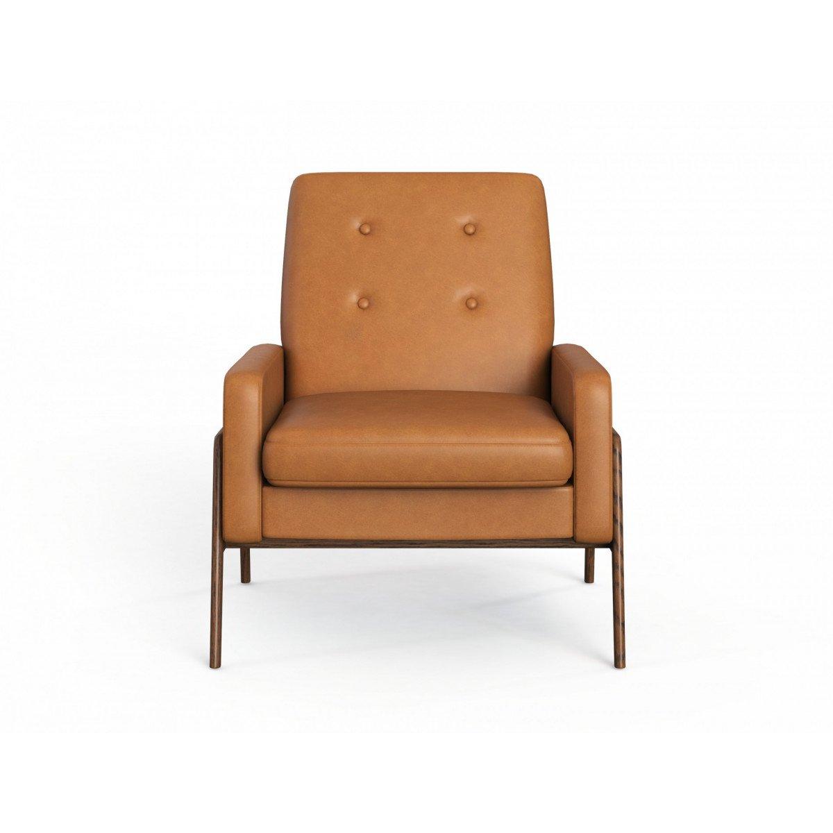 Sofa đơn da phong cách hiện đại