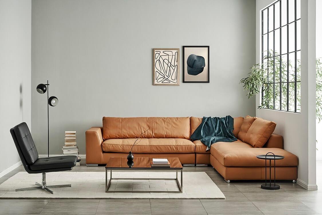 Sofa da thật Ý cao cấp